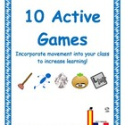 FREE! 10 Active Games