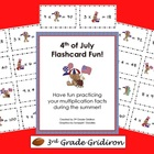 FREE 4th of July Multiplication Flashcards