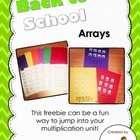 FREE Back to School Arrays