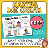 FREE Baggie Ice Cream Recipe in Pictures! Fun for Summer!