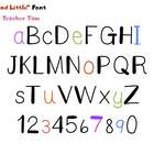 FREE!  Big and Little Font