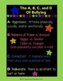 *FREE* Bullying Poster- Savvy School Counselor