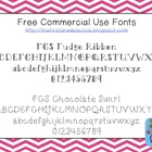 FREE Chocolate-Inspired Fonts for Personal and Commercial