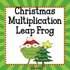 FREE Christmas Multiplication Leap Frog!
