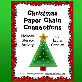 Christmas Paper Chain Connections with Subject Areas  ~  Homeschool Christmas Activities for Kids {Weekend Links} from HowToHomeschoolMyChild.com