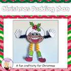FREE Christmas Pudding Man Craft