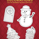 FREE Christmas decorations