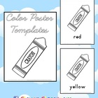 Color Poster Templates - 18 pages