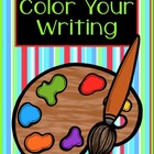 FREE - Color Your Writing