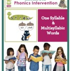 FREE Common Core Phonics Intervention for Multisyllabic Words