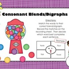 FREE Consonant Blends/Digraphs Activity (Countdown to Chri