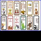 FREE Cute Animal Mini Bookmarks for Reading
