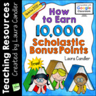 FREE Earn 10,000 Scholastic Bonus Points (2013)