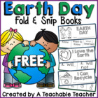 FREE Earth Day Fold & Snip Books {Graphic Organizers}