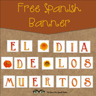 FREE El Dia de los Muertos, Day of the Dead holiday banner