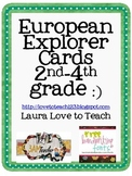 FREE European Explorer Printables