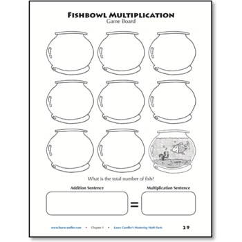 FREE Fishbowl Multiplication