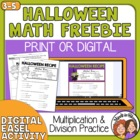 FREE Halloween Witches' Brew Math Printable