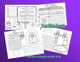 FREE Holy Thursday, Good Friday, Easter Sunday Activity Sheets!