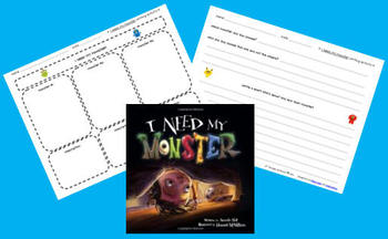 "FREE ""I Need My Monster!"" Writing Activity"