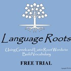 FREE Latin and Greek Root Word PowerPoint, Flashcards, Wor