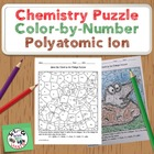 Mole Day Celebration Puzzle: Color by Ion Charge