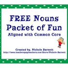 FREE Noun Packet of Fun