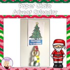 FREE Paper Chain Christmas Advent Calendar