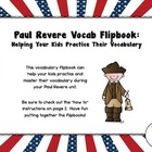 FREE Paul Revere Vocabulary Flipbook