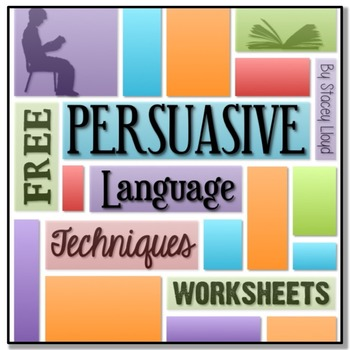 Free Persuasive Language Worksheets By Stacey Lloyd Tpt
