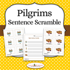 FREE Pilgrims Sentence Scramble Activity - Differentiated