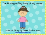 {FREE} Play Date Social Story: Girl Version