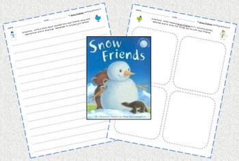"FREE ""Snow Friends"" Writing Activity"