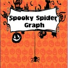 FREE Spooky Spider Graphing Activity