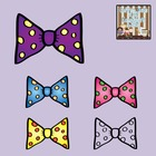 FREE Spotty Bows Graphics {Personal/Commercial Use}