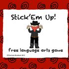 FREE - Stick'Em Up! Small group reading game