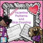 FREE!  Valentine Patterns and Skip Counting