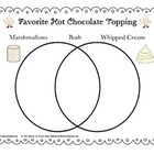 FREE Venn Diagram - Hot Chocolate Toppers (Christmas, Wint