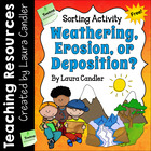 FREE Weathering, Erosion, and Deposition Sorting Activity