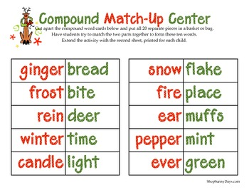 FREE Winter Compound Match Up Center