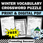 FREE Winter Crossword Puzzle