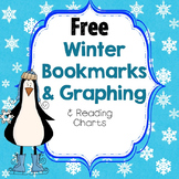 FREE Winter Theme Bookmarks, Reading Charts, Graph