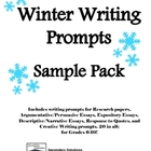 FREE Winter Writing Prompts (Grades 6 and up)