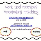 FREE Work and Machines Matching