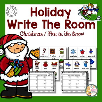 Write The Room-Christmas & Fun in the Snow