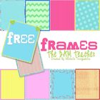 FREE on TpT:  Valentine's Day Colorful Frames by The 3AM Teacher