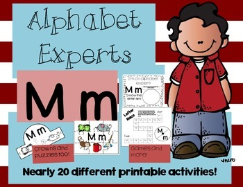 FREEBIE - Alphabet Experts Mm