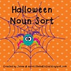 FREEBIE!  Candy Corn Noun Sort
