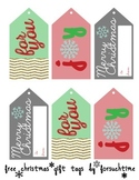 FREEBIE Christmas Gift Tags {3 digital designs}