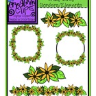 FREEBIE Crazy Daisy Borders/Elements {Creative Clips Digit